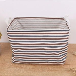 Other - Set of 2 canvas waterproof storage baskets